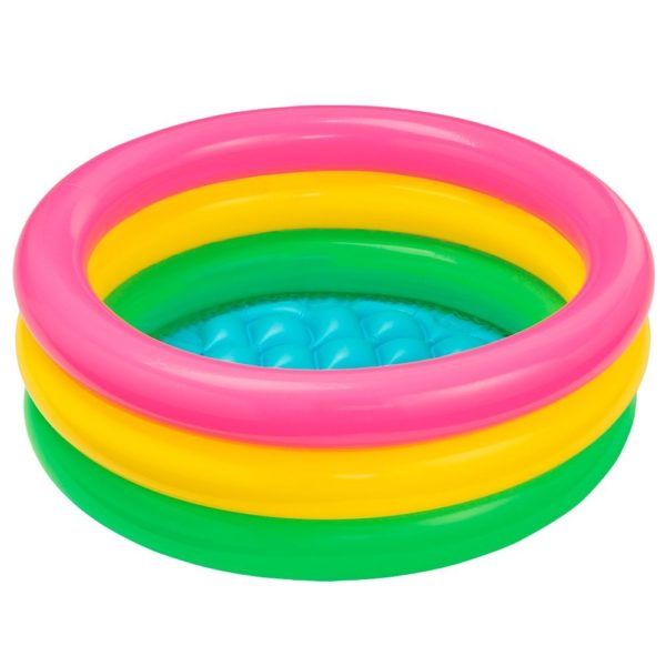 Intex Baby Pool 3-ring Sunset glow