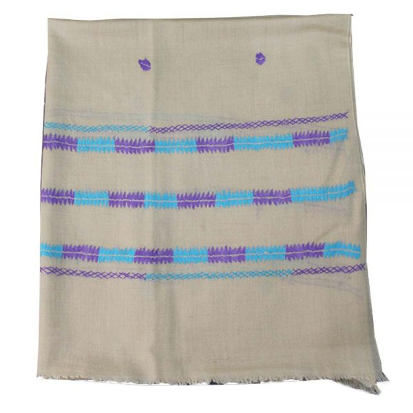 Dastakari made shaal - camel color - 35inch for female