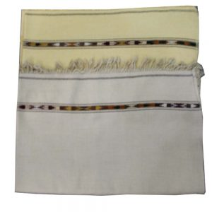 Swati Salampori Double Bown Pashmina Woll - Hand Made -3 Feet width - 1.4 Feet Height for Gents