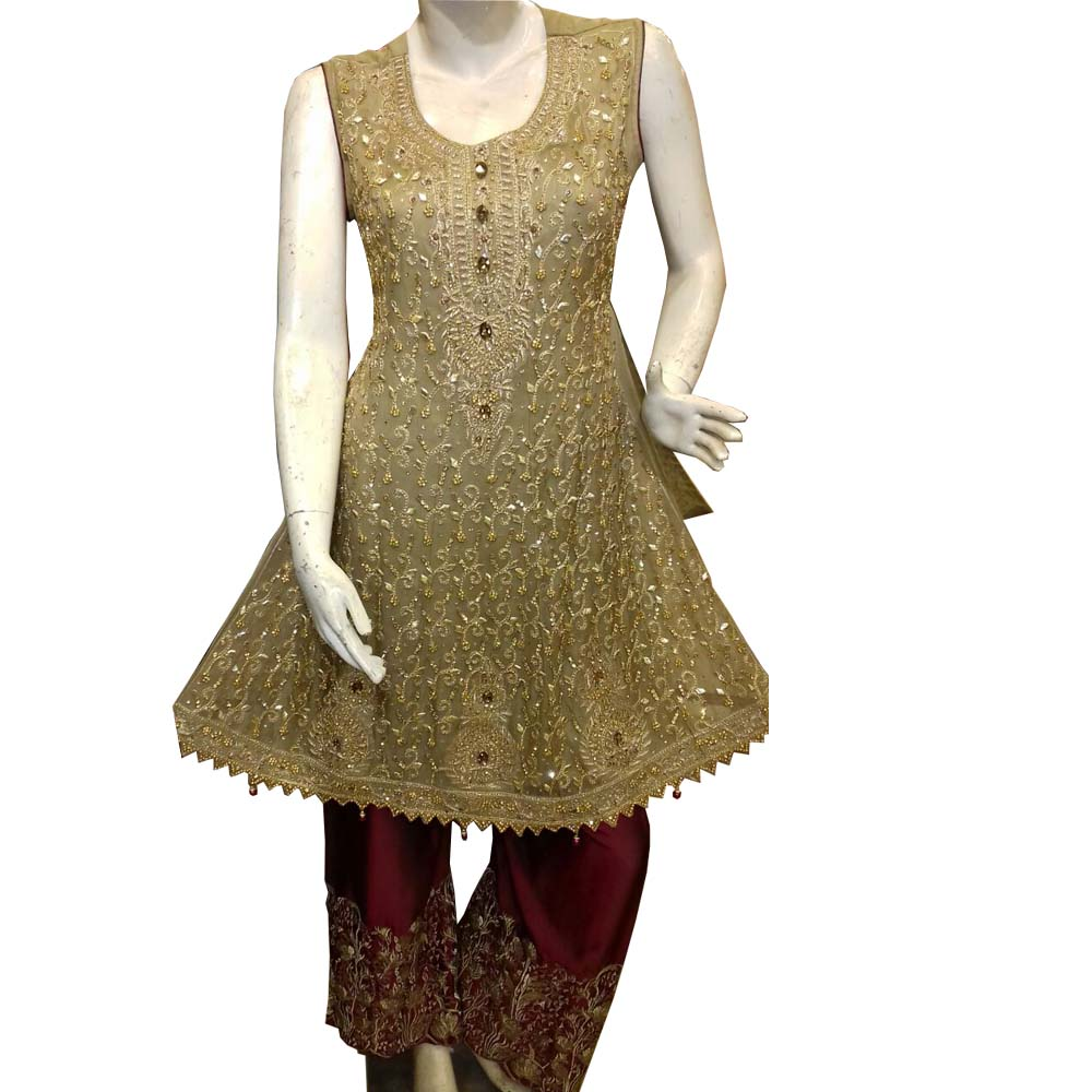 Yellow Color Stani Desi Dress New Style