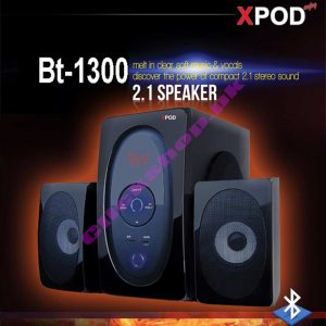 Xpod-BT 1300 2.1 speaker - shop online in pakistan