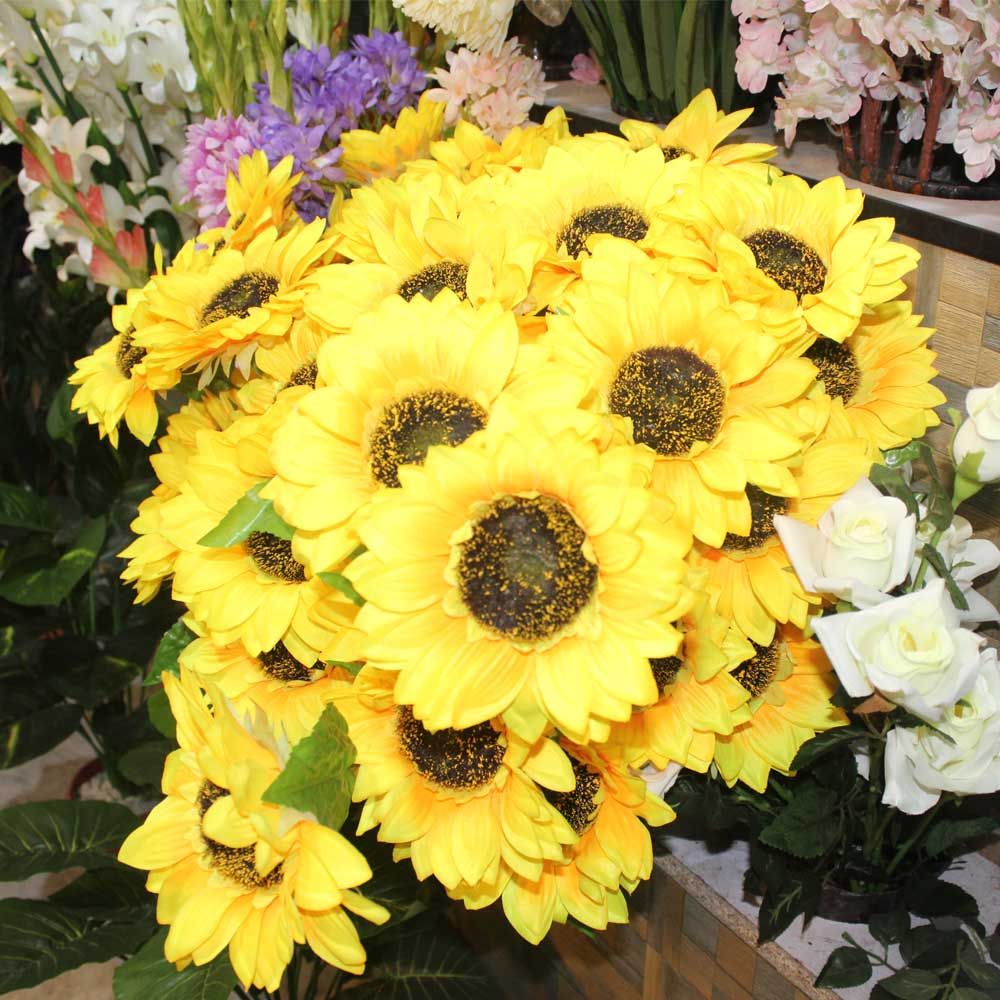 Yellow Color Flower Decoration Piece Shop Online In Pakistan